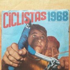 Coleccionismo deportivo: CICLISTAS 1968 EDICIONES LAIDA ALBÚM COMPLETO. Lote 219844903