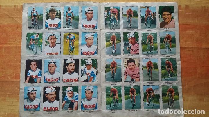 Coleccionismo deportivo: CICLISTAS 1968 EDICIONES LAIDA ALBÚM COMPLETO - Foto 3 - 219844903