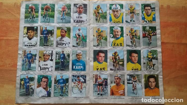 Coleccionismo deportivo: CICLISTAS 1968 EDICIONES LAIDA ALBÚM COMPLETO - Foto 4 - 219844903