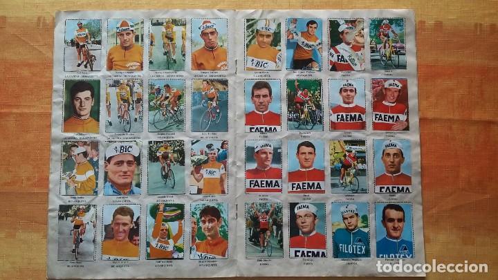 Coleccionismo deportivo: CICLISTAS 1968 EDICIONES LAIDA ALBÚM COMPLETO - Foto 5 - 219844903