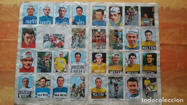 Coleccionismo deportivo: CICLISTAS 1968 EDICIONES LAIDA ALBÚM COMPLETO - Foto 6 - 219844903