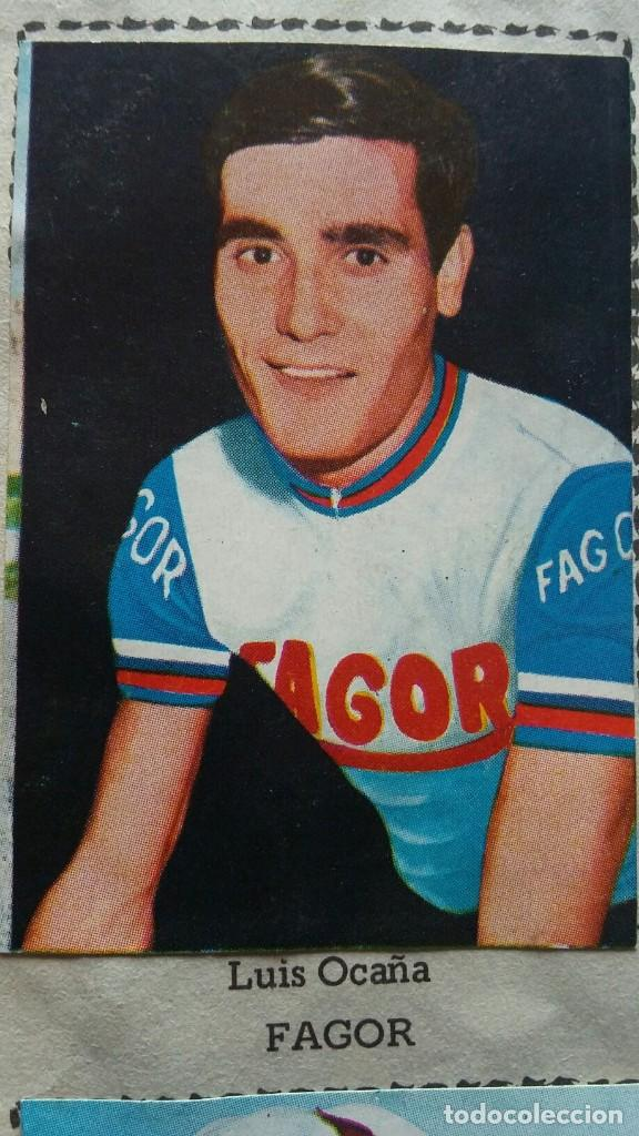 Coleccionismo deportivo: CICLISTAS 1968 EDICIONES LAIDA ALBÚM COMPLETO - Foto 11 - 219844903