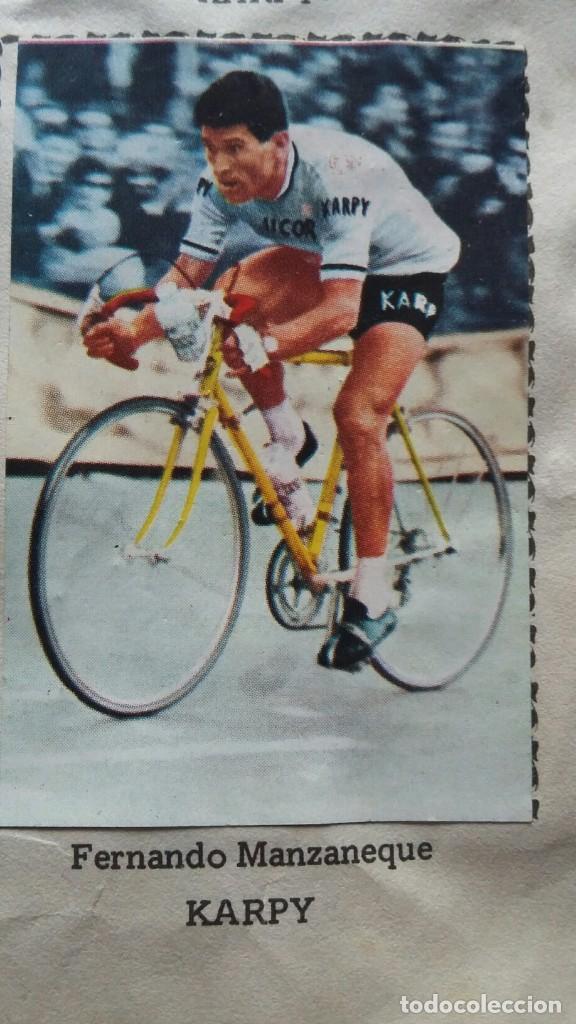 Coleccionismo deportivo: CICLISTAS 1968 EDICIONES LAIDA ALBÚM COMPLETO - Foto 17 - 219844903