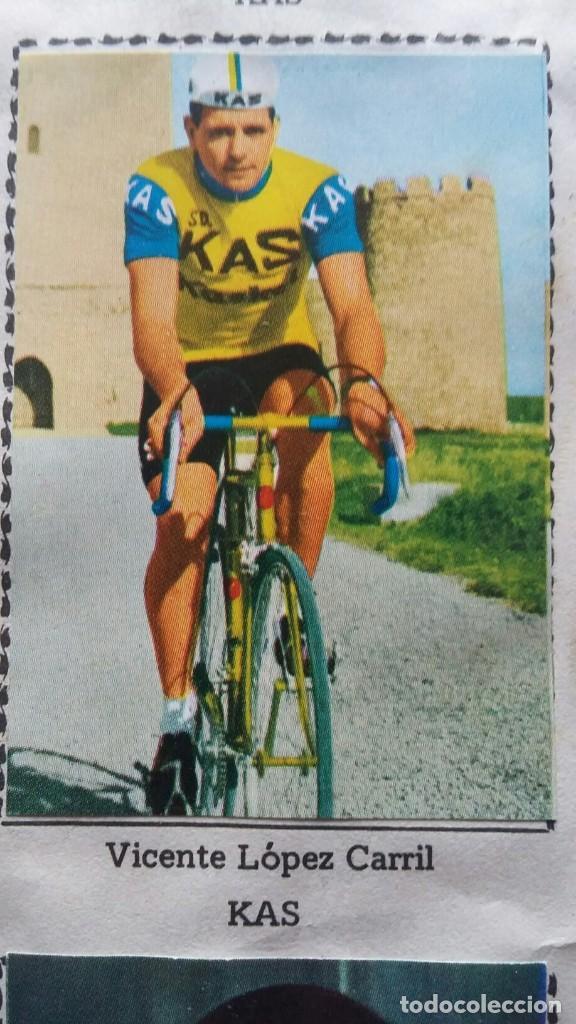 Coleccionismo deportivo: CICLISTAS 1968 EDICIONES LAIDA ALBÚM COMPLETO - Foto 18 - 219844903