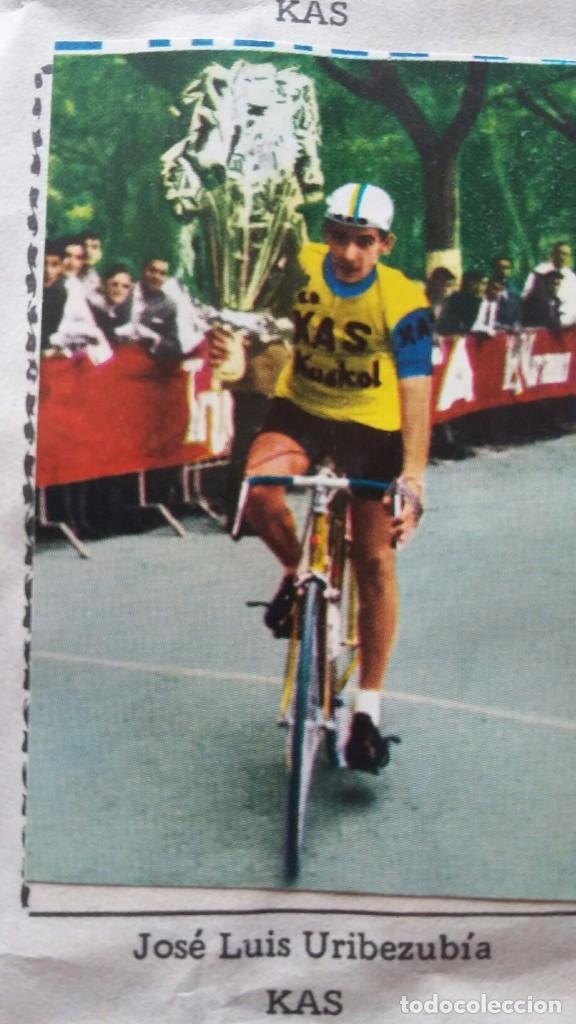 Coleccionismo deportivo: CICLISTAS 1968 EDICIONES LAIDA ALBÚM COMPLETO - Foto 20 - 219844903