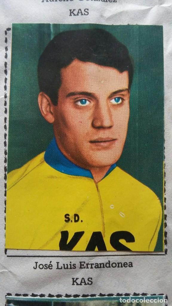 Coleccionismo deportivo: CICLISTAS 1968 EDICIONES LAIDA ALBÚM COMPLETO - Foto 21 - 219844903