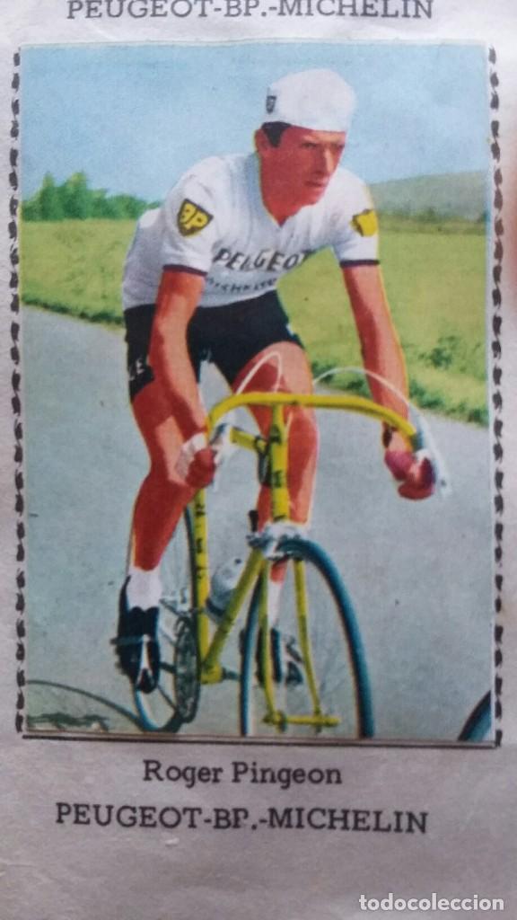 Coleccionismo deportivo: CICLISTAS 1968 EDICIONES LAIDA ALBÚM COMPLETO - Foto 34 - 219844903