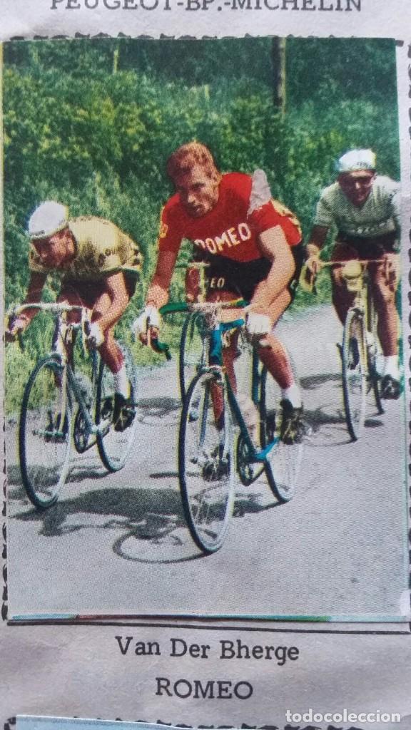 Coleccionismo deportivo: CICLISTAS 1968 EDICIONES LAIDA ALBÚM COMPLETO - Foto 36 - 219844903