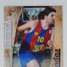 Collezionismo sportivo: BALONCESTO ACB 2008 2009 PANINI Nº 355 LEYENDAS DEJAN BODIROGA (BARCELONA) BASKET CROMO 08 09 BARÇA. Lote 220571781
