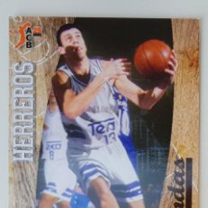 Coleccionismo deportivo: BALONCESTO ACB 2008 2009 PANINI Nº 353 ALBERTO HERREROS REAL MADRID LEYENDAS BASKET CROMO 08 09. Lote 220584270