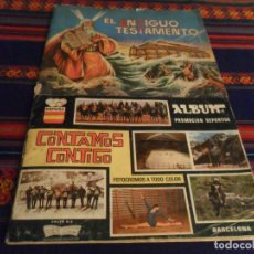 Coleccionismo deportivo: CONTAMOS CONTIGO COMPLETO 310 CROMOS. COLED 1968. REGALO ANTIGUO TESTAMENTO INCOMPLETO. FERMA 1968.. Lote 220636435