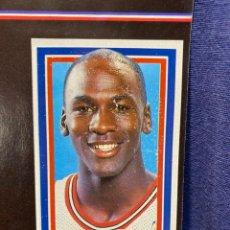 Coleccionismo deportivo: ALBUM CROMOS BASKET LOS ASES DE LA NBA COMPLETO MICHAEL JORDAN VER FOTOS 1989 30X21CMS. Lote 220894157