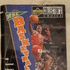 Coleccionismo deportivo: UPPER DECK PORTADA ALBUM BASKET 96 97 NBA MICHAEL JORDAN EN ACCIÓN. Lote 221506946