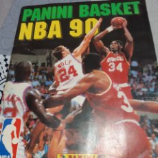 Coleccionismo deportivo: ALBUM CROMOS NBA 90 COMPLETO. Lote 221833292