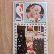 Coleccionismo deportivo: S. WEBB. MERCHANTE. LIGA BALONCESTO 86 87 1986 1987 Nº 166 SIN PEGAR.. Lote 221948870