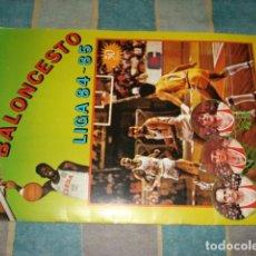Coleccionismo deportivo: CAMPEONATO BALONCESTO LIGA 84-85, J. MERCHANTE, COMPLETO, MUY BUEN ESTADO. Lote 222405712