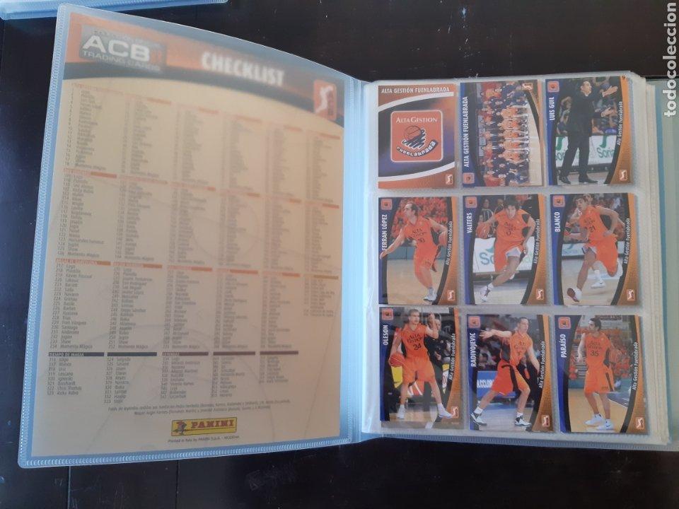 Coleccionismo deportivo: ALBUM ARCHIVADOR TRADING CARDS BALONCESTO BASKET ACB 2008 2009 08 09 COMPLETA EXCELENTE ESTADO - Foto 3 - 222623271