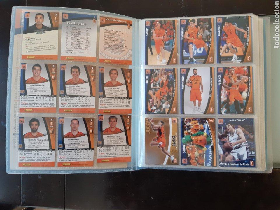 Coleccionismo deportivo: ALBUM ARCHIVADOR TRADING CARDS BALONCESTO BASKET ACB 2008 2009 08 09 COMPLETA EXCELENTE ESTADO - Foto 4 - 222623271