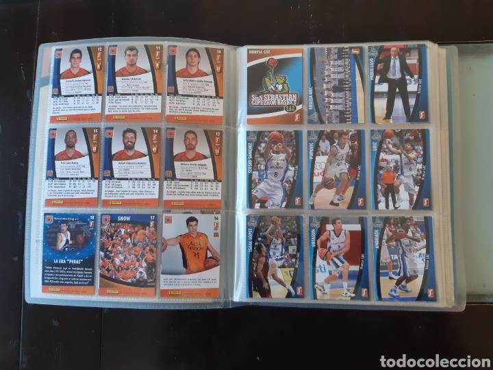 Coleccionismo deportivo: ALBUM ARCHIVADOR TRADING CARDS BALONCESTO BASKET ACB 2008 2009 08 09 COMPLETA EXCELENTE ESTADO - Foto 5 - 222623271