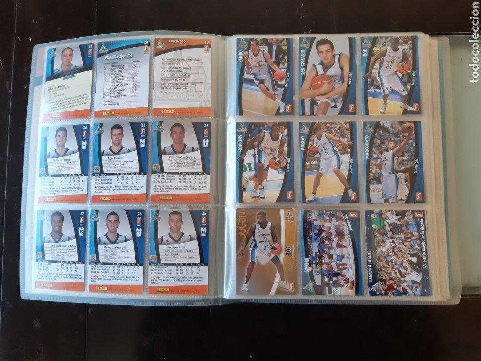 Coleccionismo deportivo: ALBUM ARCHIVADOR TRADING CARDS BALONCESTO BASKET ACB 2008 2009 08 09 COMPLETA EXCELENTE ESTADO - Foto 6 - 222623271