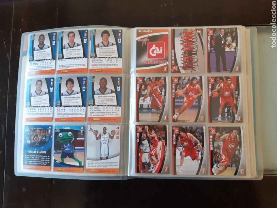 Coleccionismo deportivo: ALBUM ARCHIVADOR TRADING CARDS BALONCESTO BASKET ACB 2008 2009 08 09 COMPLETA EXCELENTE ESTADO - Foto 7 - 222623271