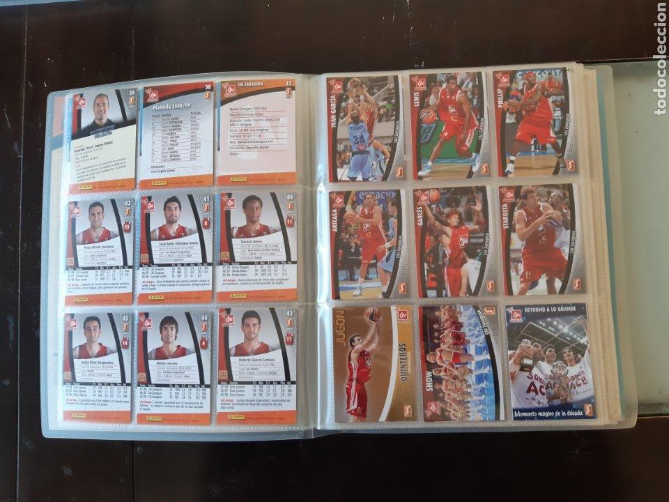 Coleccionismo deportivo: ALBUM ARCHIVADOR TRADING CARDS BALONCESTO BASKET ACB 2008 2009 08 09 COMPLETA EXCELENTE ESTADO - Foto 8 - 222623271