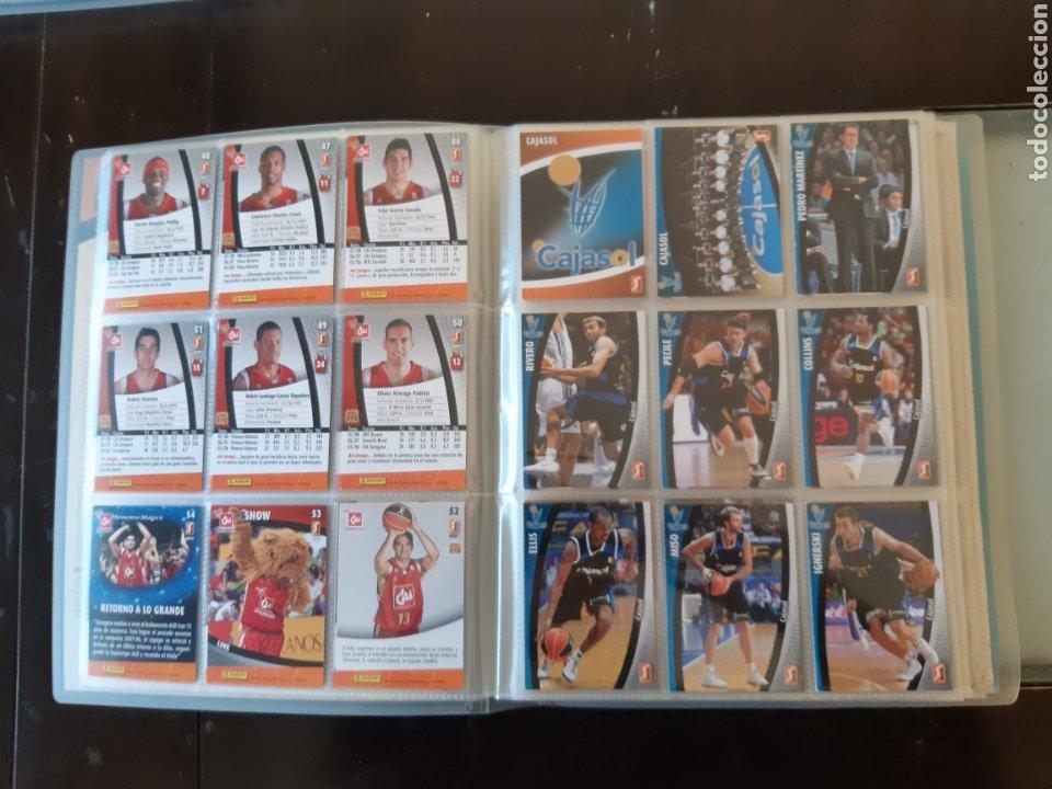 Coleccionismo deportivo: ALBUM ARCHIVADOR TRADING CARDS BALONCESTO BASKET ACB 2008 2009 08 09 COMPLETA EXCELENTE ESTADO - Foto 9 - 222623271
