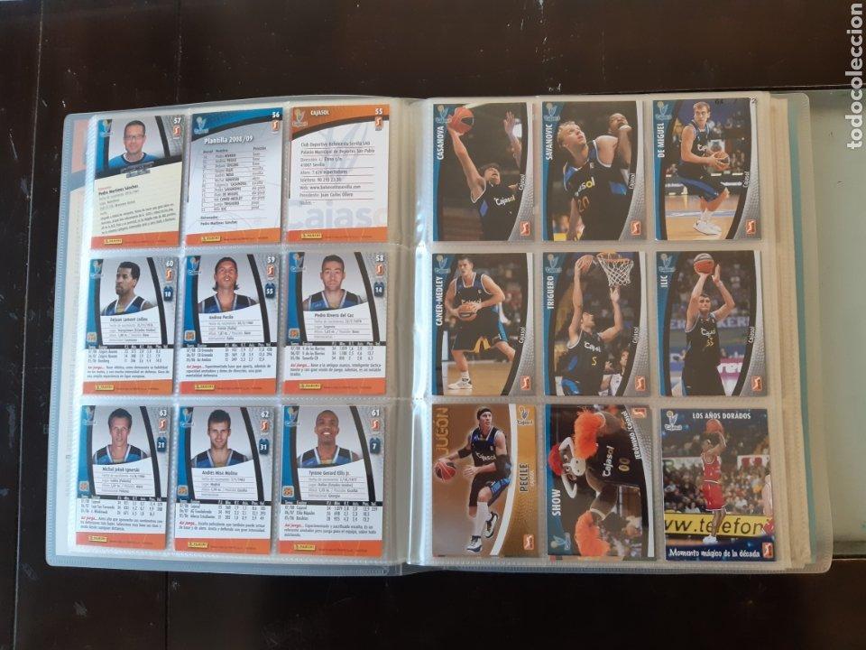 Coleccionismo deportivo: ALBUM ARCHIVADOR TRADING CARDS BALONCESTO BASKET ACB 2008 2009 08 09 COMPLETA EXCELENTE ESTADO - Foto 10 - 222623271