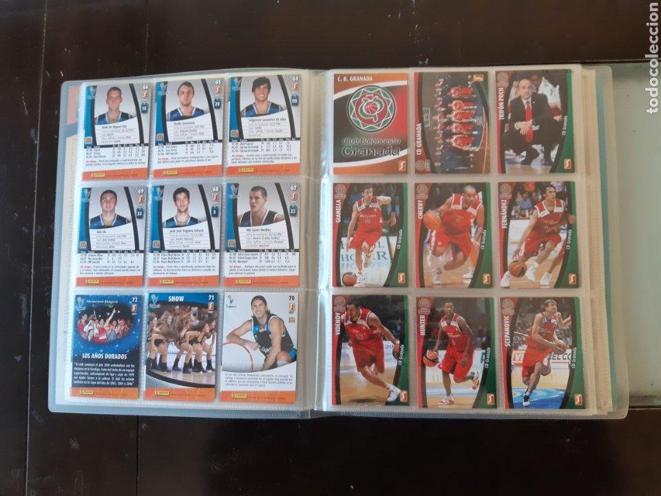 Coleccionismo deportivo: ALBUM ARCHIVADOR TRADING CARDS BALONCESTO BASKET ACB 2008 2009 08 09 COMPLETA EXCELENTE ESTADO - Foto 11 - 222623271