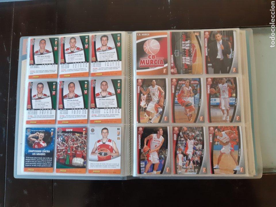 Coleccionismo deportivo: ALBUM ARCHIVADOR TRADING CARDS BALONCESTO BASKET ACB 2008 2009 08 09 COMPLETA EXCELENTE ESTADO - Foto 13 - 222623271