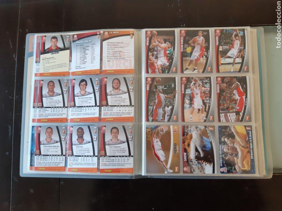 Coleccionismo deportivo: ALBUM ARCHIVADOR TRADING CARDS BALONCESTO BASKET ACB 2008 2009 08 09 COMPLETA EXCELENTE ESTADO - Foto 14 - 222623271