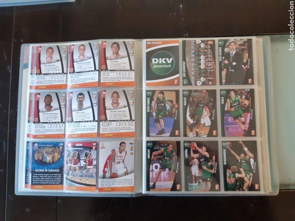 Coleccionismo deportivo: ALBUM ARCHIVADOR TRADING CARDS BALONCESTO BASKET ACB 2008 2009 08 09 COMPLETA EXCELENTE ESTADO - Foto 15 - 222623271
