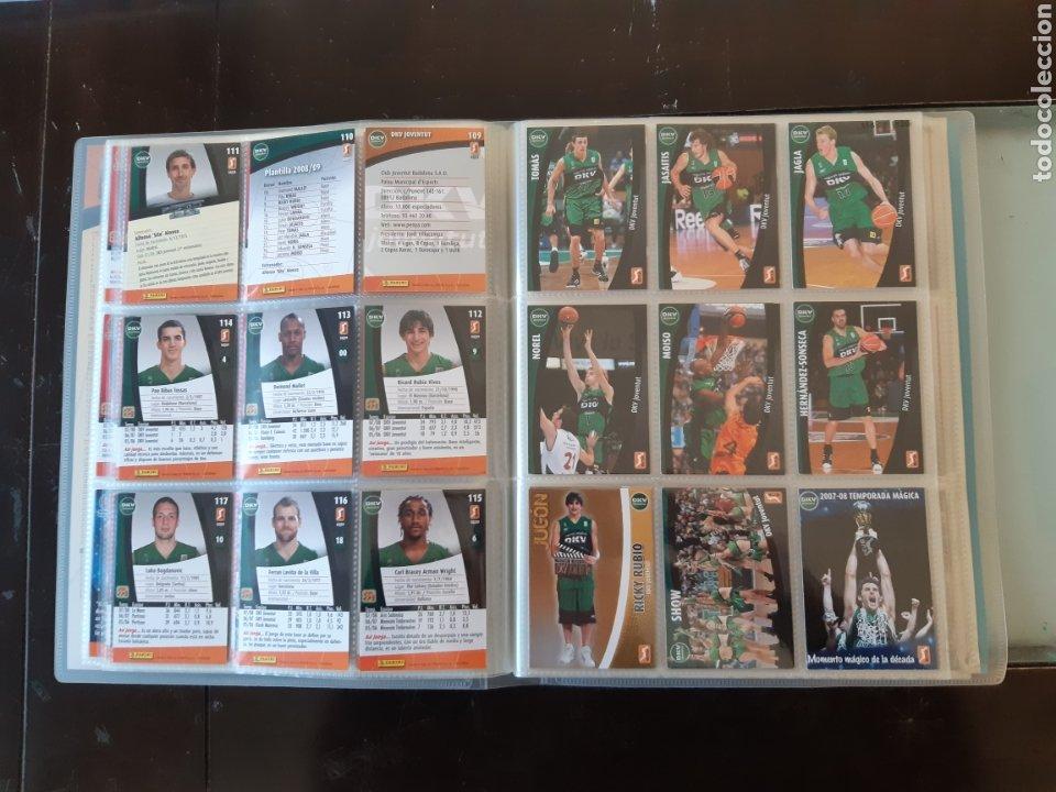 Coleccionismo deportivo: ALBUM ARCHIVADOR TRADING CARDS BALONCESTO BASKET ACB 2008 2009 08 09 COMPLETA EXCELENTE ESTADO - Foto 16 - 222623271