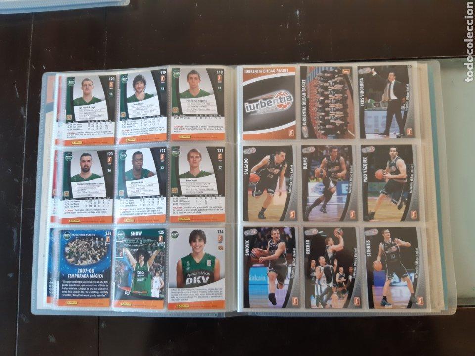 Coleccionismo deportivo: ALBUM ARCHIVADOR TRADING CARDS BALONCESTO BASKET ACB 2008 2009 08 09 COMPLETA EXCELENTE ESTADO - Foto 17 - 222623271