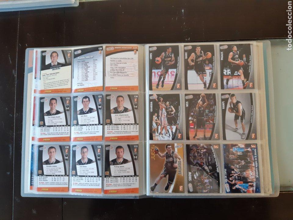 Coleccionismo deportivo: ALBUM ARCHIVADOR TRADING CARDS BALONCESTO BASKET ACB 2008 2009 08 09 COMPLETA EXCELENTE ESTADO - Foto 18 - 222623271