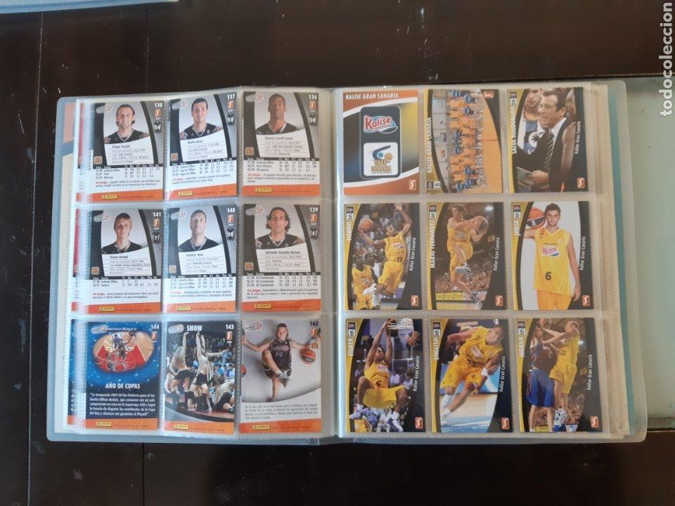 Coleccionismo deportivo: ALBUM ARCHIVADOR TRADING CARDS BALONCESTO BASKET ACB 2008 2009 08 09 COMPLETA EXCELENTE ESTADO - Foto 19 - 222623271