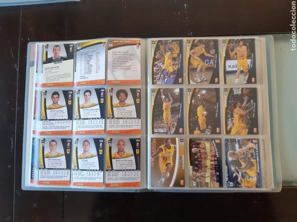 Coleccionismo deportivo: ALBUM ARCHIVADOR TRADING CARDS BALONCESTO BASKET ACB 2008 2009 08 09 COMPLETA EXCELENTE ESTADO - Foto 20 - 222623271