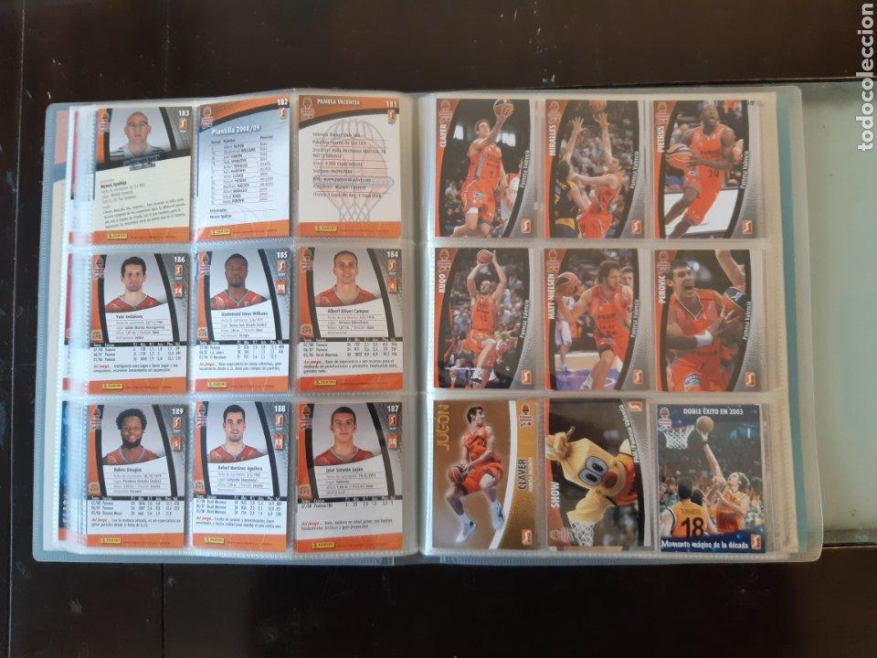 Coleccionismo deportivo: ALBUM ARCHIVADOR TRADING CARDS BALONCESTO BASKET ACB 2008 2009 08 09 COMPLETA EXCELENTE ESTADO - Foto 24 - 222623271