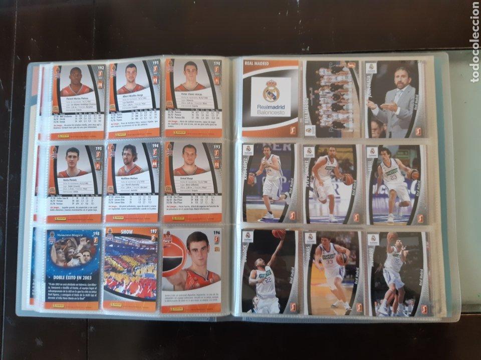 Coleccionismo deportivo: ALBUM ARCHIVADOR TRADING CARDS BALONCESTO BASKET ACB 2008 2009 08 09 COMPLETA EXCELENTE ESTADO - Foto 25 - 222623271