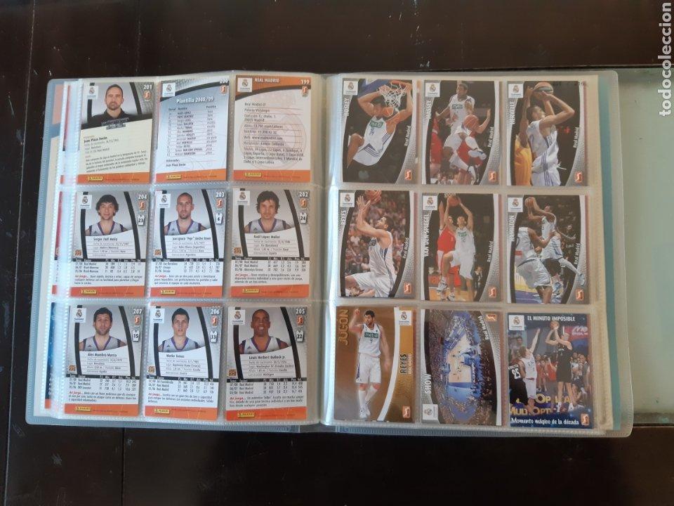 Coleccionismo deportivo: ALBUM ARCHIVADOR TRADING CARDS BALONCESTO BASKET ACB 2008 2009 08 09 COMPLETA EXCELENTE ESTADO - Foto 26 - 222623271
