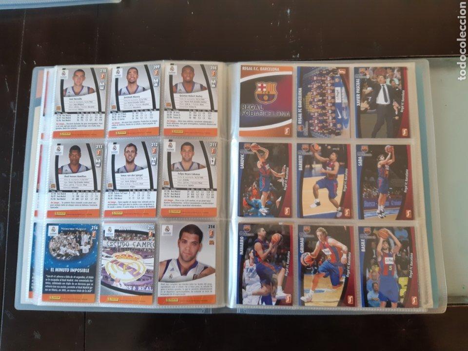 Coleccionismo deportivo: ALBUM ARCHIVADOR TRADING CARDS BALONCESTO BASKET ACB 2008 2009 08 09 COMPLETA EXCELENTE ESTADO - Foto 27 - 222623271