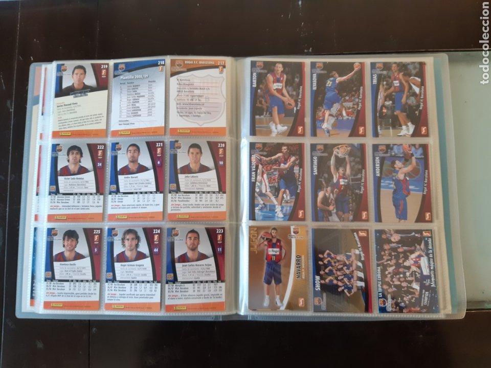 Coleccionismo deportivo: ALBUM ARCHIVADOR TRADING CARDS BALONCESTO BASKET ACB 2008 2009 08 09 COMPLETA EXCELENTE ESTADO - Foto 28 - 222623271