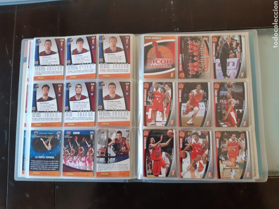 Coleccionismo deportivo: ALBUM ARCHIVADOR TRADING CARDS BALONCESTO BASKET ACB 2008 2009 08 09 COMPLETA EXCELENTE ESTADO - Foto 29 - 222623271