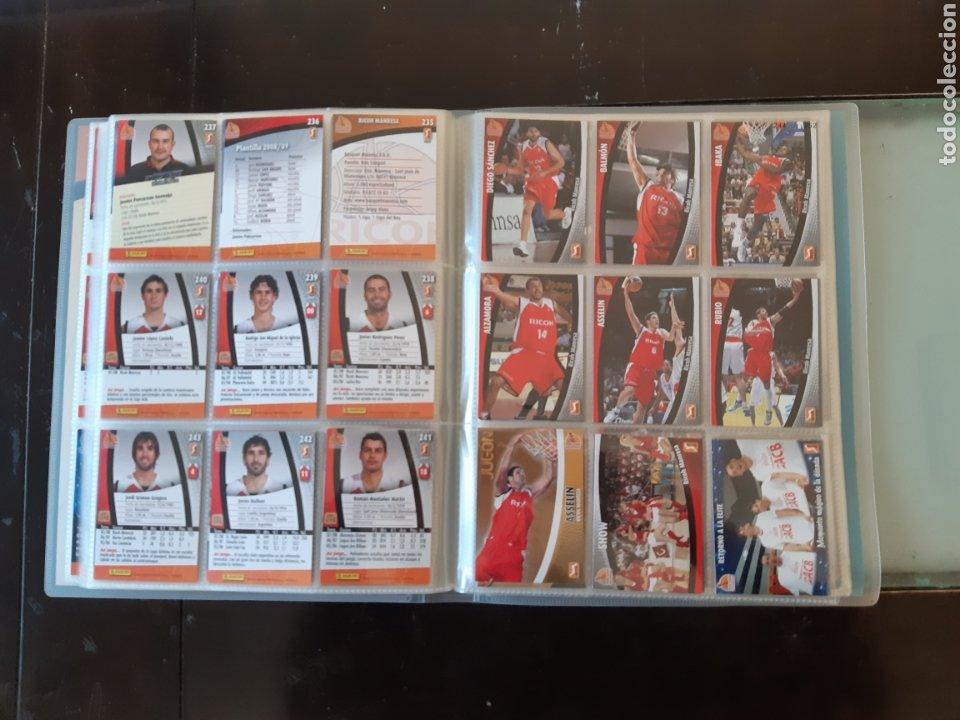 Coleccionismo deportivo: ALBUM ARCHIVADOR TRADING CARDS BALONCESTO BASKET ACB 2008 2009 08 09 COMPLETA EXCELENTE ESTADO - Foto 30 - 222623271