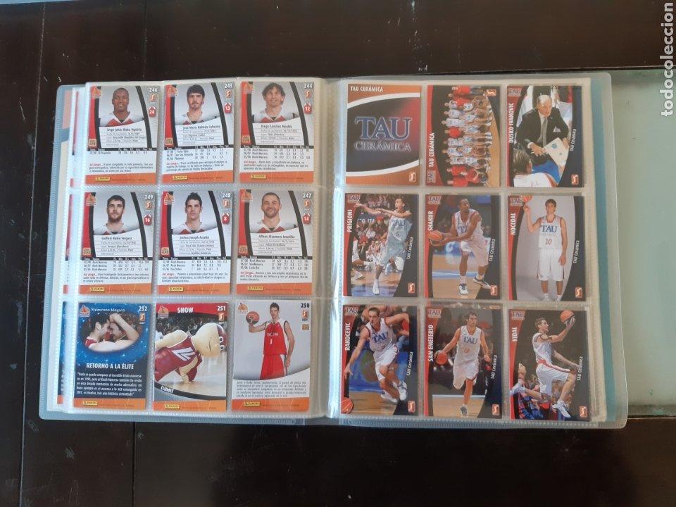 Coleccionismo deportivo: ALBUM ARCHIVADOR TRADING CARDS BALONCESTO BASKET ACB 2008 2009 08 09 COMPLETA EXCELENTE ESTADO - Foto 31 - 222623271