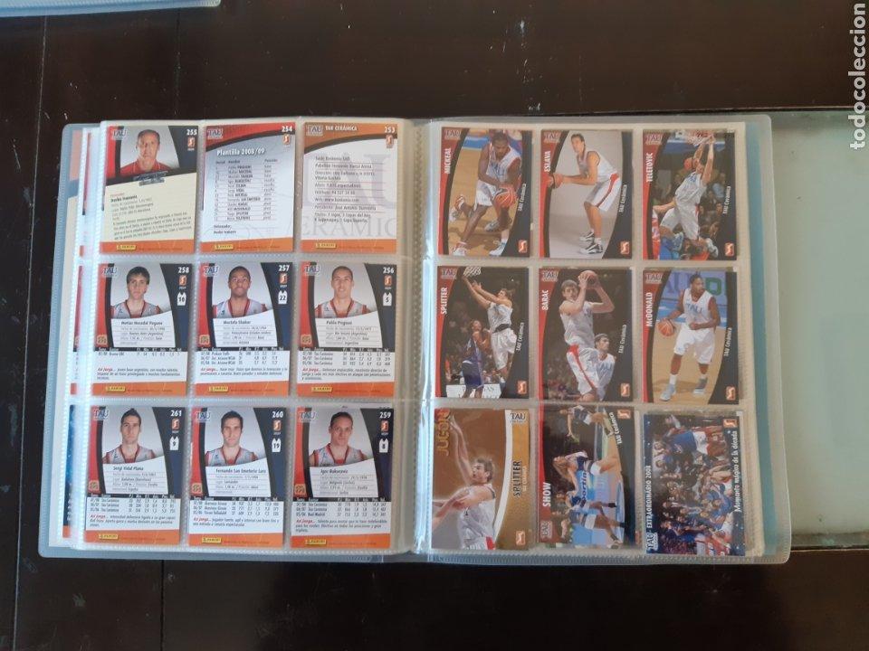 Coleccionismo deportivo: ALBUM ARCHIVADOR TRADING CARDS BALONCESTO BASKET ACB 2008 2009 08 09 COMPLETA EXCELENTE ESTADO - Foto 32 - 222623271
