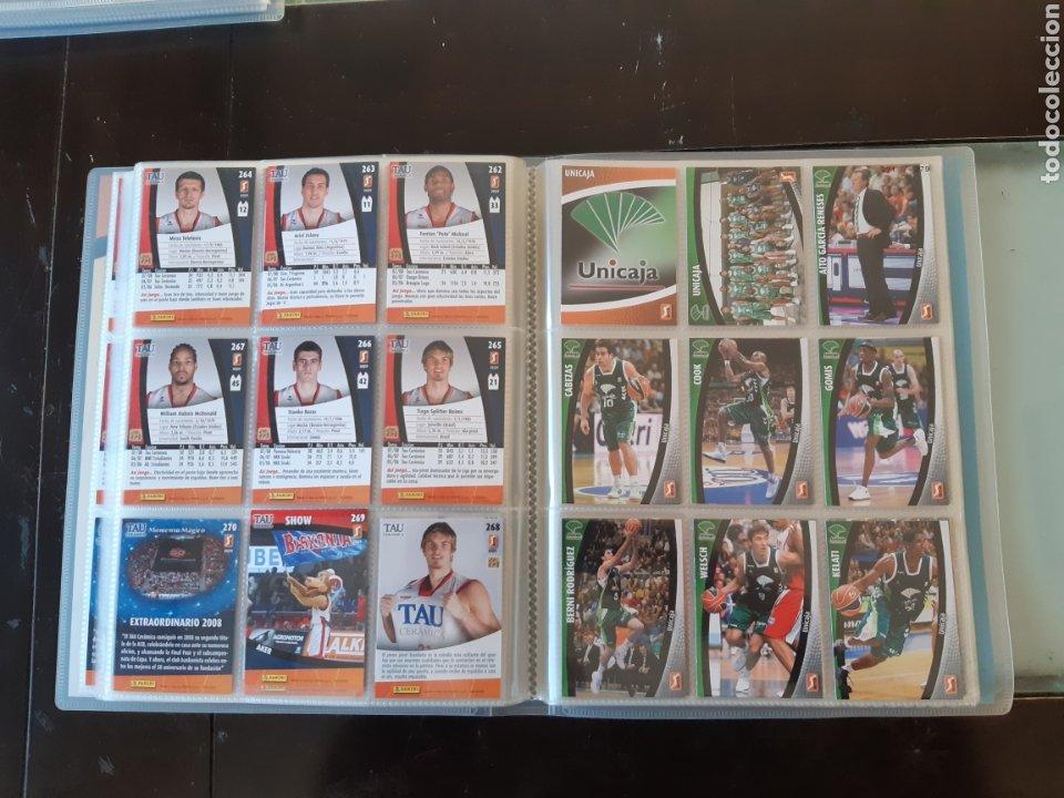 Coleccionismo deportivo: ALBUM ARCHIVADOR TRADING CARDS BALONCESTO BASKET ACB 2008 2009 08 09 COMPLETA EXCELENTE ESTADO - Foto 33 - 222623271