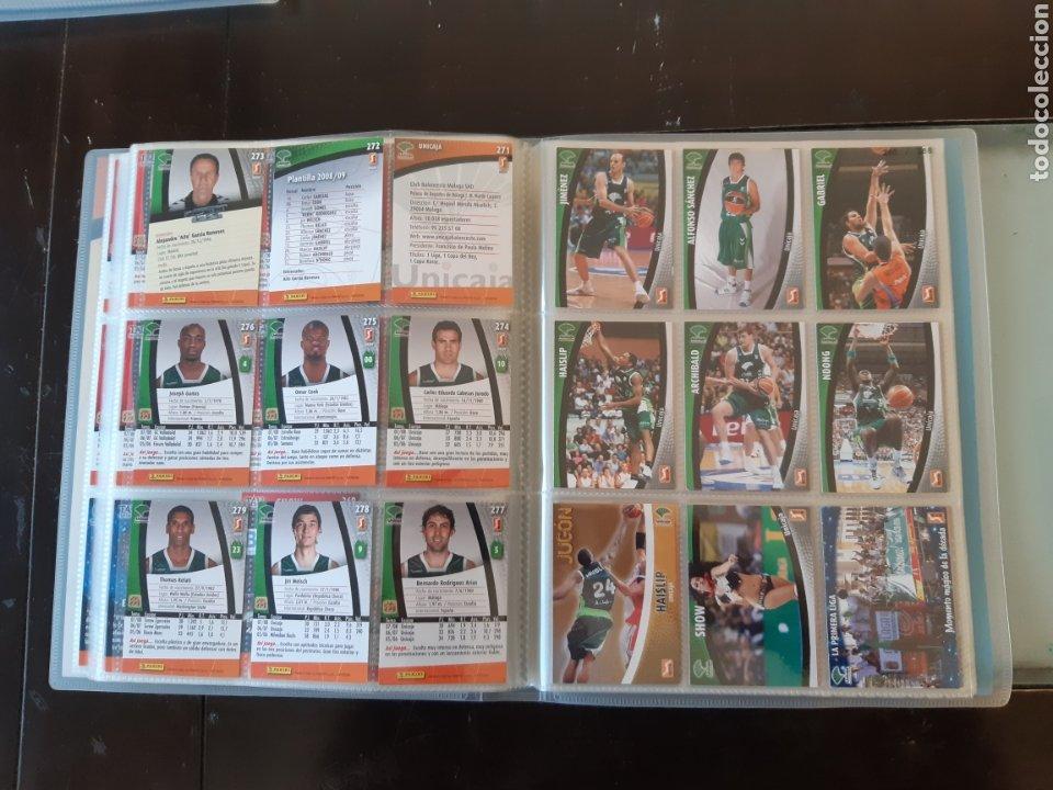 Coleccionismo deportivo: ALBUM ARCHIVADOR TRADING CARDS BALONCESTO BASKET ACB 2008 2009 08 09 COMPLETA EXCELENTE ESTADO - Foto 34 - 222623271