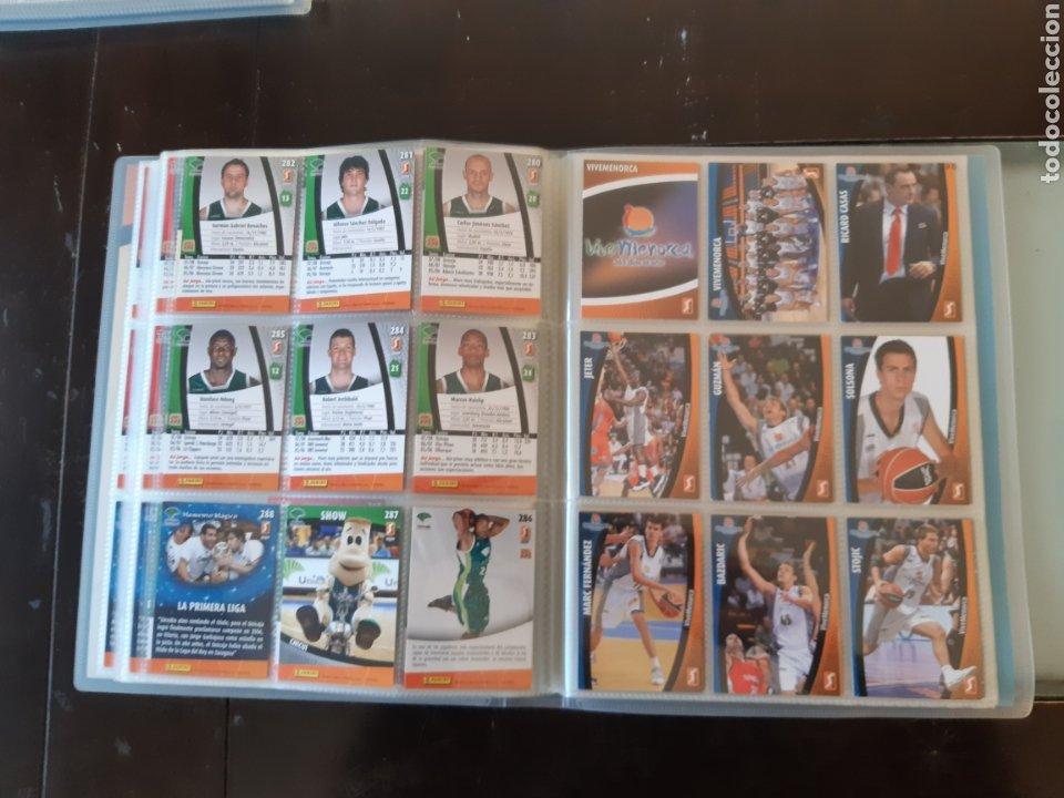 Coleccionismo deportivo: ALBUM ARCHIVADOR TRADING CARDS BALONCESTO BASKET ACB 2008 2009 08 09 COMPLETA EXCELENTE ESTADO - Foto 35 - 222623271