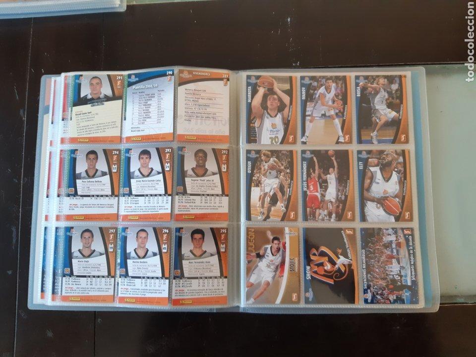 Coleccionismo deportivo: ALBUM ARCHIVADOR TRADING CARDS BALONCESTO BASKET ACB 2008 2009 08 09 COMPLETA EXCELENTE ESTADO - Foto 36 - 222623271